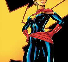 Captain Marvel: Carol Danvers by osideous