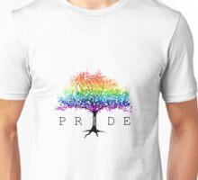 Gay Pride Cherry Tree Unisex T-Shirt