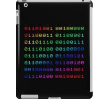 Binary... i can't read it! iPad Case/Skin