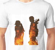 Beth & Daryl Fire Unisex T-Shirt