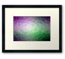 Geometrics Original Vector Artwork - v001 Framed Print