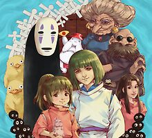 Spirited away by saniika