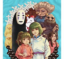 Spirited away Photographic Print