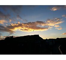 Edinburgh Bird At Dawn Photographic Print