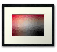 Geometrics Original Vector Artwork - v002 Framed Print