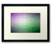 Geometrics Original Vector Artwork - v005 Framed Print