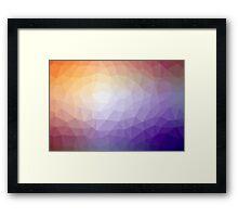 Geometrics Original Vector Artwork - v006 Framed Print
