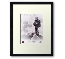 82nd Airborne- One day I will fly Framed Print
