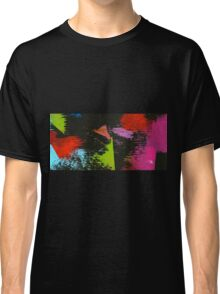 black abstract Classic T-Shirt