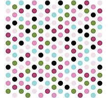 Modern Chic Large Polka Dots Photographic Print
