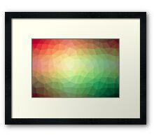 Geometrics Original Vector Artwork - v013 Framed Print