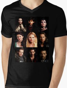 OUAT Posters Tee Mens V-Neck T-Shirt