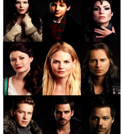 OUAT Posters Tee Sticker