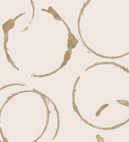 Coffee Stains Sticker