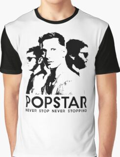 Popstar - Never Stop Never Stopping Version One Graphic T-Shirt