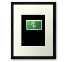 What is your choice? Framed Print