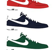 NIKE Air Force 1  by Tloweart
