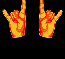 2 Cool Metal Hand Finger by Style-O-Mat