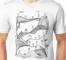 Monstrous landscape Unisex T-Shirt