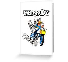 Paperboy Arcade  Greeting Card