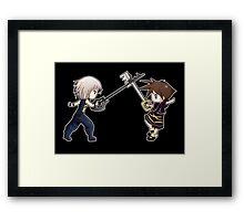 Sora x Riku Framed Print