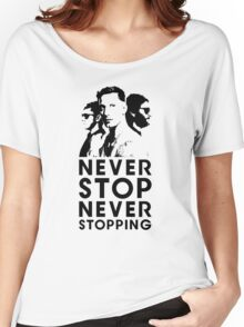 Popstar - Never Stop Never Stopping Version Two Women's Relaxed Fit T-Shirt