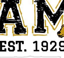 UAMB - Crackled Letters Sticker