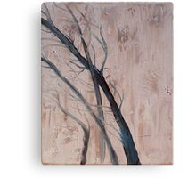 The Chilling Autumn Wind Canvas Print