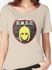 DMDC Detectorists Logo - Distressed Women's Relaxed Fit T-Shirt
