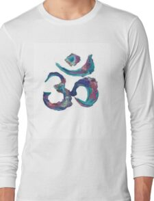 Painted Om Long Sleeve T-Shirt
