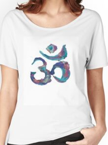 Painted Om Women's Relaxed Fit T-Shirt
