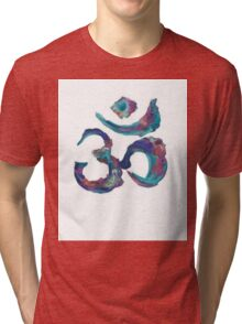 Painted Om Tri-blend T-Shirt