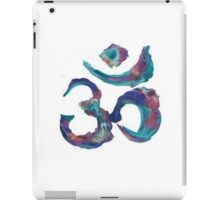 Painted Om iPad Case/Skin