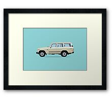 Toyota Land Cruiser FJ61 Framed Print