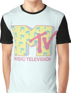 Summer MTV Graphic T-Shirt