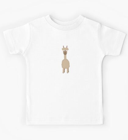 Brown Alpaca   Kids Tee