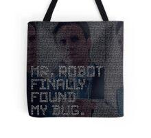 mr.robot_eps1.2_d3bug.mkv Tote Bag