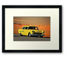 1955 Chevy 'Post' Coupe Framed Print