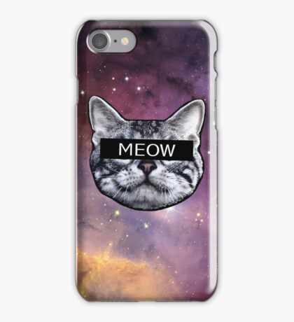 Censor Cat iPhone Case/Skin