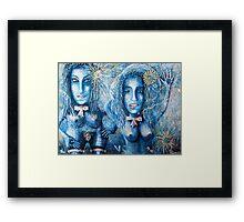 Martian women Framed Print