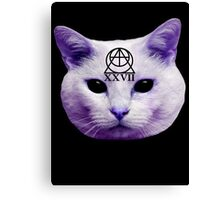 Cult Cat Canvas Print