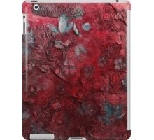 Blossoms in the wind  (red) iPad Case/Skin