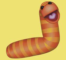 A fuzzy little worm One Piece - Short Sleeve