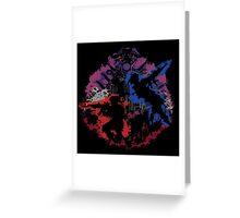 Mad Dog & Scorpion Greeting Card