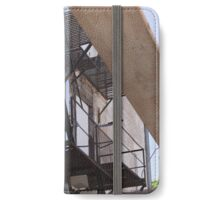 A Lone Fire Escape iPhone Wallet/Case/Skin