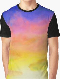 airbrush sunset Graphic T-Shirt