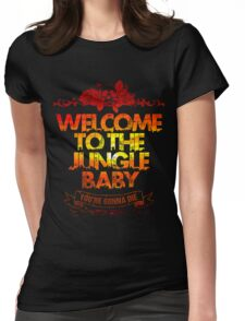 Welcome to the jungle Womens Fitted T-Shirt