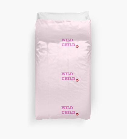 Wild Child Duvet Cover