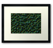 Topography Framed Print