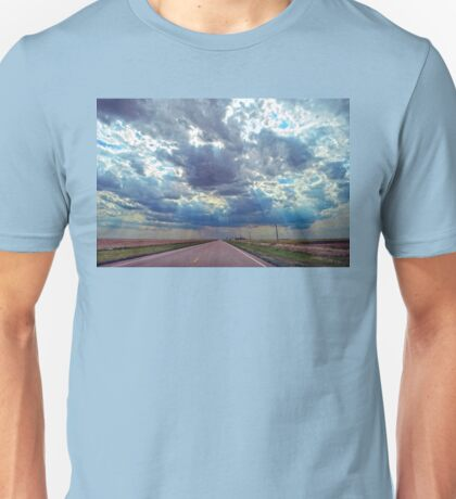 Coming Storm in Western Kansas Unisex T-Shirt